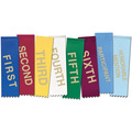 Hemmed Top Place Award Ribbon