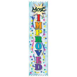 Most Improved Award Ribbon