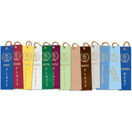 Stock Torch Award Ribbon