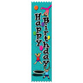 Gymnastics Happy Birthday Award Ribbon