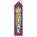 All Star Multicolor Point Top Ribbons