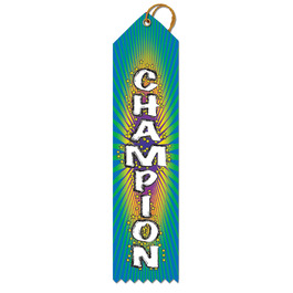 Champion Multicolor Point Top Ribbons