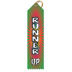 Runner Up Multicolor Point Top Ribbons