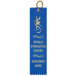 2&quot; x 8&quot; Square Top Award Ribbon
