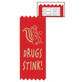 Drugs Stink Red Ribbon
