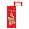 Community and Me Red Ribbon