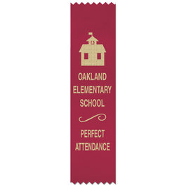 Pinked Top Award Ribbons
