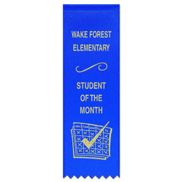 Hemmed Top Award Ribbons