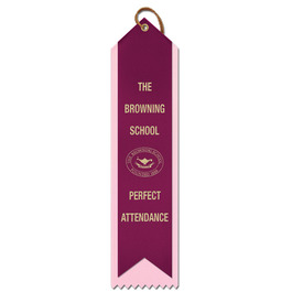 2 Layered Point Top Award Ribbon