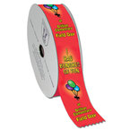 Multicolor Roll of Award Ribbons