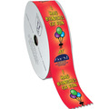 "Multicolor Award Ribbon Rolls<br>3"" wide - 100yds."