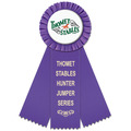 Mere Horse Show Rosette Award Ribbon