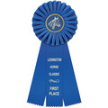 Clare Horse Show Rosette Award Ribbon