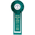 Alton Horse Show Rosette Award Ribbon