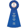 Ideal Cat Show Rosette Award Ribbon