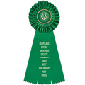 Luxury Cat Show Rosette Award Ribbon