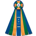 Birkdale Cat Show Rosette Award Ribbon