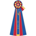 Guernsey Cat Show Rosette Award Ribbon