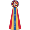 Newton Cat Show Rosette Award Ribbon