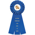 Clare Dog Show Rosette Award Ribbon