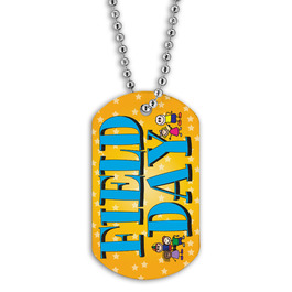Full Color Field Day Dog Tag