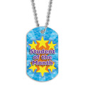 Full Color Student of the Month Dog Tag