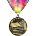 WC Winner's Circle School Award Medal w/ Millennium Neck Ribbon