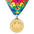 BL School Award Medal w/ Millennium Neck Ribbon