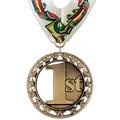 Rising Star School Award Medal with Millennium Neck Ribbon