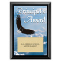 Principal's Award Plaque - Black