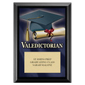 Valedictorian Award Plaque - Black