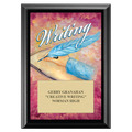 Writing Award Plaque - Black