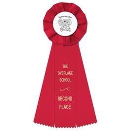 Empire School Rosette Award Ribbon