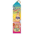 Focus, Fun, Finish FIELD DAY Award Ribbon