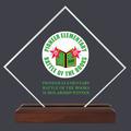 Diamond Acrylic School Award Trophy