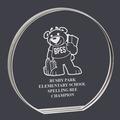 Round Acrylic School Award Trophy