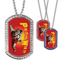 Full Color Wrestling Pin It GEM Dog Tags