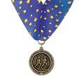 MX Sports Award Medal w/ Millennium Neck Ribbon