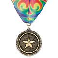 LX Sports Award Medal w/ Millennium Neck Ribbon