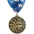 WC Sports Award Medal w/ Millennium Neck Ribbon