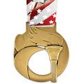 Stock Atlas  Sports Award Medal w/ Millennium Liberty Neck Ribbon