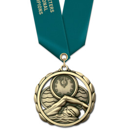 ES Medal w/ Satin Neck Ribbon