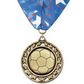 ST Sports Award Medal w/ Millennium Neck Ribbon