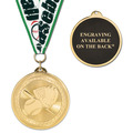 BL Sports Award Medal w/ Grosgrain Neck Ribbon - ENGRAVED