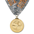 BL Sports Award Medal w/ Custom Millennium Neck Ribbon