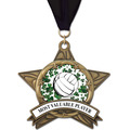 AS All Star Sports Award Medal w/ Any Grosgrain Neck Ribbon