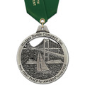 HH Award Sports Medal w/ Satin Neck Ribbon