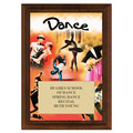 Dance Award Plaque - Cherry Finish
