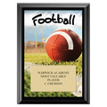 Football Award Plaque - Black