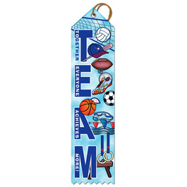 Team Sports Award Ribbon